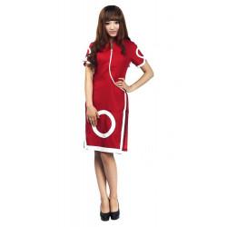 Fantasia Sakura Naruto Haruno Vestido Luxo Cosplay