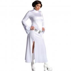 Fantasia Star Wars Princesa Leia Adulto Extra Grande