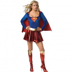 Fantasia Supergirl Adulto Feminino Sexy