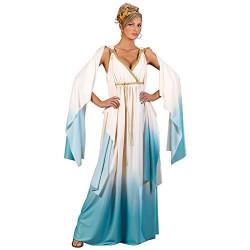 Fantasia Vestido Deusa Grega Adulto Luxo