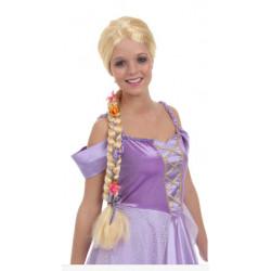 Peruca Adulto Rapunzel Enrolados