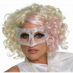 Peruca Lady Gaga Adulto Feminino Loira Cacheada