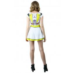 Vestido Fantasia Buzz Toy Story Adolescente Luxo