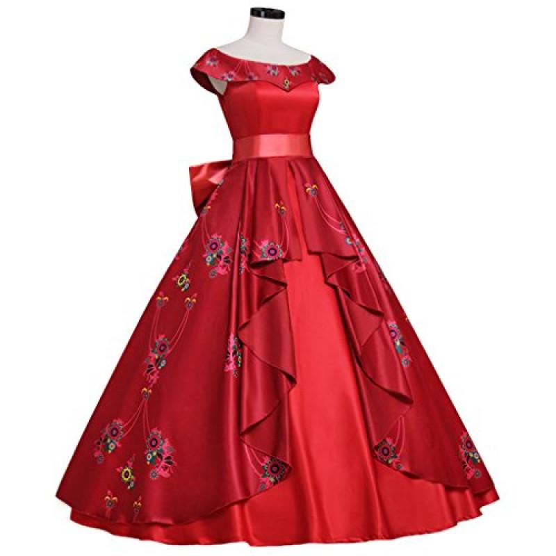 Vestido Princesa Elena De Avalor Cosplay Adulto Luxo