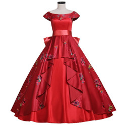 Vestido Princesa Elena de Avalor Cosplay Adulto Luxo