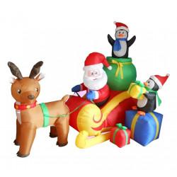 Decoração Natal Papai Noel Inflável
