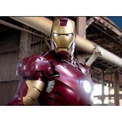 Robô Fantasia Homem de Ferro Adulto