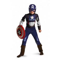 Capitão América Fantasia Infantil