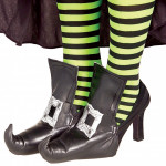 Cobertura de Sapatos de Bruxa Adulto
