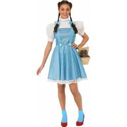 Fantasia Adulto Dorothy Mágico de Oz Luxo