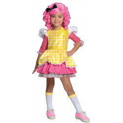 Fantasia Boneca Lalaloopsy Luxo Crumbs Sugar Infantil