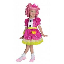 Fantasia Boneca Lalaloopsy Luxo Jewel Sparkles Infantil