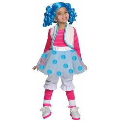 Fantasia Boneca Lalaloopsy Luxo Mittens Fluff 'N' Stuff Infantil