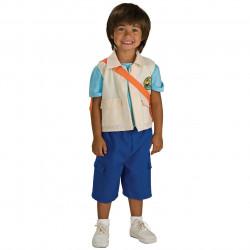Fantasia Diego Infantil Dora a Exploradora Luxo