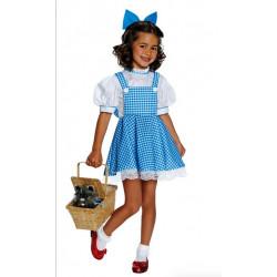Fantasia Dorothy Mágico de Oz Infantil Clássica