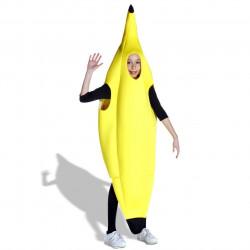Fantasia Fruta Banana Infantil Luxo