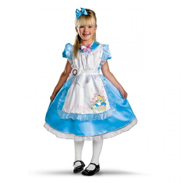 Fantasia Infantil Alice no País das Maravilhas Luxo
