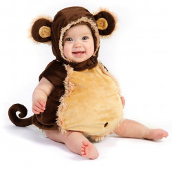 Fantasia Infantil Bebê Macaco Bebê Parmalat Luxo