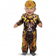 Fantasia Infantil Bebê Transformers Bumblebee