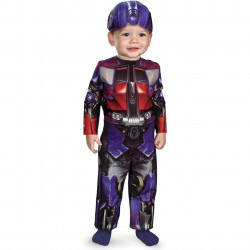 Fantasia Infantil Bebê Transformers Optimus Prime