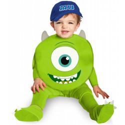 Fantasia Infantil Bebê Universidade dos Monstros Mike