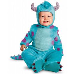 Fantasia Infantil Bebê Universidade dos Monstros Sullivan Sulley