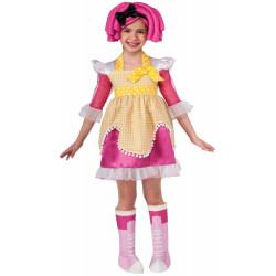Fantasia Infantil boneca Lalaloopsy Luxo Crumbs Sugar
