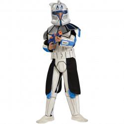 Fantasia Infantil Clone Trooper Líder Rex Luxo Star Wars