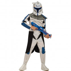 Fantasia Infantil Clone Trooper Líder Rex Star Wars