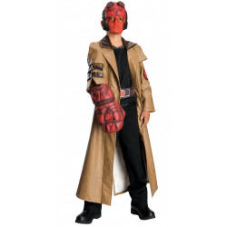 Fantasia Infantil Hellboy Luxo