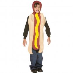 Fantasia Infantil Hot Dog Cachorro Quente Luxo