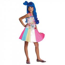 Fantasia Infantil Katy Perry Doce