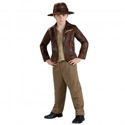 Fantasia Infantil Masculina Luxo Indiana Jones