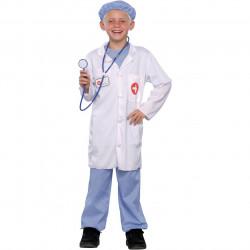 Fantasia Infantil Medico Cirurgião Clássica