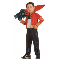 Fantasia Infantil Mutante Rex Generator Rex Luxo