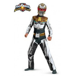 Fantasia Infantil Power Rangers Robo Knight Megaforce