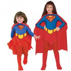 Fantasia Infantil SuperGirl Super Garota