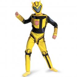 Fantasia Infantil Transformers Animado Bumblebee