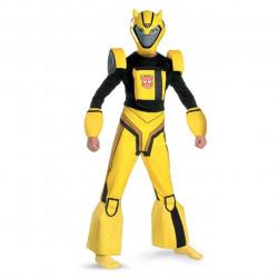 Fantasia Infantil Transformers Animado Bumblebee Luxo