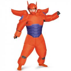 Fantasia Inflável Baymax Vermelho Operação Big Hero 6 Infantil