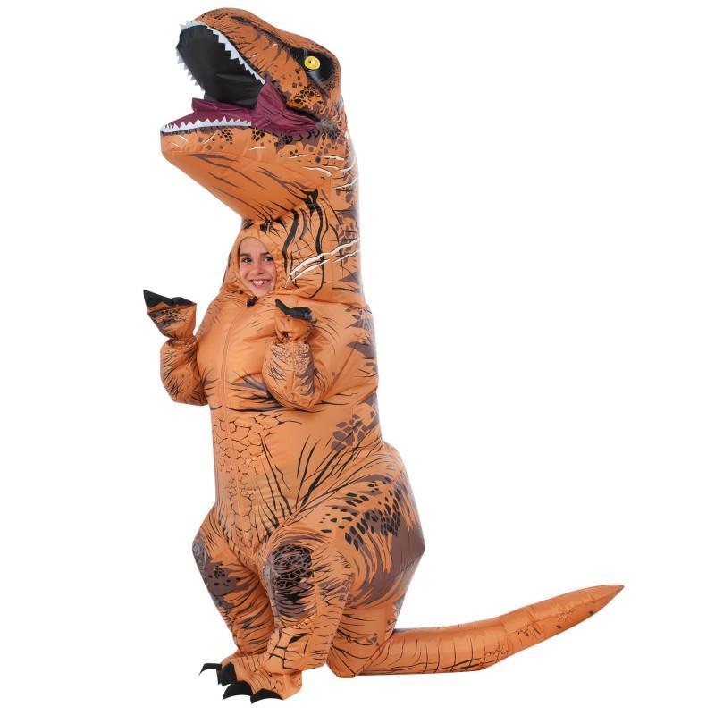 Fantasia Inflável Jurassic Park O Mundo Dos Dinossauros Infantil