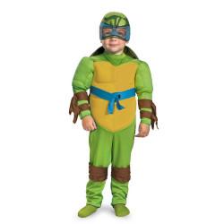 Fantasia Leonardo Tartarugas Ninja Infantil com Músculos