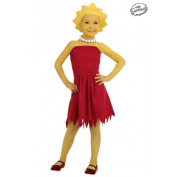 Fantasia Lisa Os Simpsons Luxo Infantil
