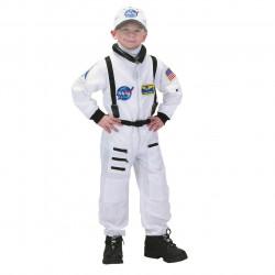 Fantasia Macacão de Astronauta Infantil Luxo