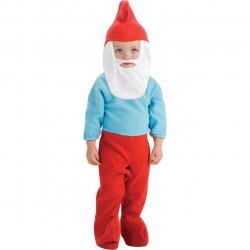 Fantasia Papai Smurfs Infantil Bebê
