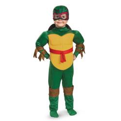 Fantasia Tartaruga Ninja Rafael Infantil com Músculos