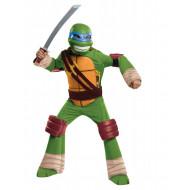 Fantasia Tartarugas Ninja Infantil Luxo Leonardo com Músculos