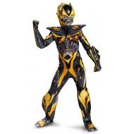 Fantasia Transformers 4 A Era da Extinção Bumblebee Luxo Infantil