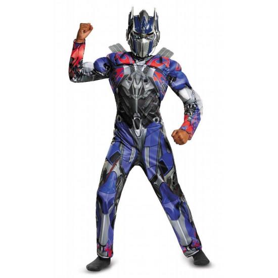 Fantasia Transformers 4 A Era da Extinção Optimus Prime Luxo Infantil
