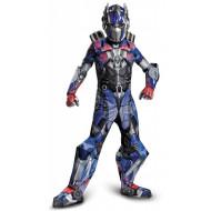 Fantasia Transformers 4 A Era da Extinção Optimus Prime Super Luxo Infantil